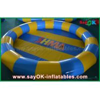 Customized Air Tight Inflatable Water Toys PVC Swimming Pool For Children Playing Manufactures