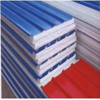 composite metal sandwich roof panel/EPS sandwich roofing Manufactures