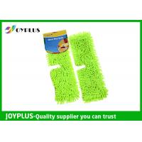 Double Side Wet Mop Refill No Scratch , Pva Mop Refill Customized Color 40X12CM Manufactures