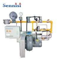 China Automatic Color Powder Coating Line for Metal Products gas burner on sale