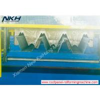 China European 153 Metal Deck Roll Forming Machine , Floor Tiles Making Machine With High Rib on sale