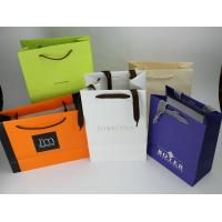 China Fashion Paper Shopping Bags Coated Artpaper Material For Clothes / Jewelry on sale