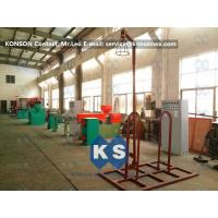 PVC Wire Coating Machine 120mm x 150mm for PVC Coated Hexagonal Wire Mesh Manufactures