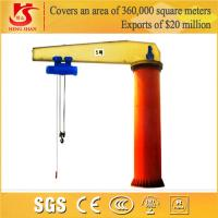 Factory price and BV Certificated Motor Driven jib crane Manufactures