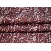Polyester Suit Jacket Lining Fabric Digital Printing Transfer Printing Manufactures
