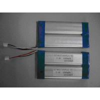 Quality Portable DVD lithium battery  HZT8027100 1200-1600mA LI-Polymer 7.4V for sale