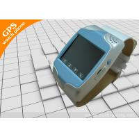 Electronic Clock 160dBm Mobile Phone / Voice Monitoring Function Wrist Watch GPS Tracker Manufactures