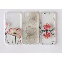 Uv Printing Flower Design iPhone X Phone Case / Tpu Slim Mobile Skin Cover Manufactures