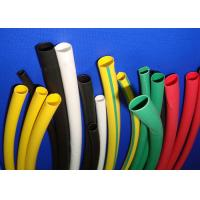 Polyolefin Heat Shrink Tubing Colored Waterproof , Electrical Heat Shrink Sleeve Manufactures