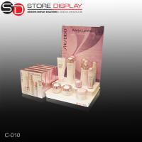 Quality plastic vaccum form countertop display for cosmetic for sale