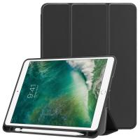 iPad 9.7 2018 Case with Built-in Apple Pencil Holder, Soft TPU Back Cover for Apple iPad 9.7 2018/2017,iPad Air /Air 2 Manufactures