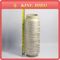 China 900D Carpet 100% Polyester Filament Yarn Recycled Dope Dyed Raw White on sale