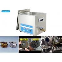 Power Adjustable Ultrasonic Cleaner With 450W Heating Power 200 Watt Manufactures