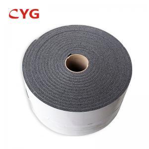 China Aluminum Foil Closed Cell Spray Polyethylene Foam Insulation Adhesive Backed on sale