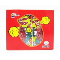 Buy cheap Grenade Shape Healthy Lollipop With Poping Candy / Low Calorie Hard Candy from wholesalers
