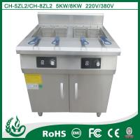 China High Durability Stainless Steel Deep Fat Fryer Energy Saving For Home on sale