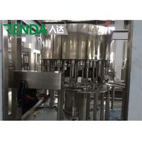 Drinking Water Bottle Filling Machine Mineral Water / Pure Water Production Line Manufactures