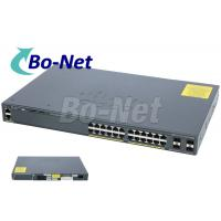 WS C2960X 24TS L Cisco Soho Gigabit Switch , Cisco 2960x 24 Port Switch 80G Manufactures