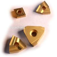 Carbide CNC Threading Insert , Cbn Inserts For Hard Turning 89-93 HRA Hardness Manufactures