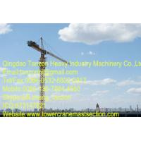 6 Tons 140m Self Climbing Building Tower Crane For Power Stations / Bridges Manufactures
