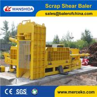 Engineers available to service machinery Y83Q-4000G Scrap Metal Shear Baler China suppliers wanshida Manufactures