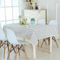 Japanese style dining table cloth cotton for printing Manufactures
