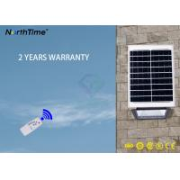 Energy Saving 100 W Solar LED Garden Lights / Ip65 Outdoor Solar Flood Lamp With Remote Control Manufactures
