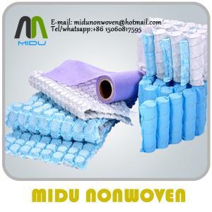 Spring Bag Nonwoven Fabric mattress linin Spunbond non wovens Manufactures