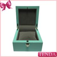China Unique Gilrs Painted High Glossy Matt Varnishing Lacquering Solid MDF Board Vintage Wooden Watch Boxes on sale