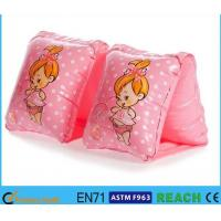 Easy Inflate Children Arm Bands,Cute Arm Floaties Toddlers Two Air Chambers Ring Manufactures
