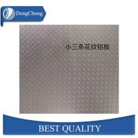 Buy cheap 3 Bar Aluminium Alloy Checker Plate 3003 Embossed Chequered Plate For Flooring from wholesalers