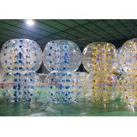 China Commercial Adults Giant Bubble Soccer , Comfortable Big Inflatable Soccer Ball on sale