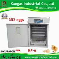 352 Chicken Eggs Fully Automatic Chicken Incubator Egg (KP-6) Manufactures