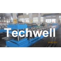 Three Wave Highway Guardrail Cold Roll Forming Machine for 3 Wave Guard Rail Beam Manufactures