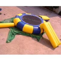 Inflatable Jumping Water Trampoline with Water Slide (CY-M2078) Manufactures