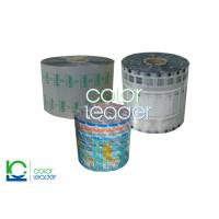Moisture Proof Plastic Food Packaging Films Rolls With Laminated Structure Manufactures