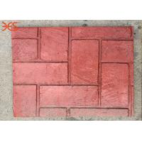 China Non Fading Premixed Concrete Color Hardener Red Color 96% Solid Content on sale