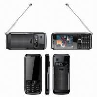 2.2-inch Dual-SIM GSM Mobile Phone with Analog TV High Definition Cameras, Available in Red/Blue Manufactures