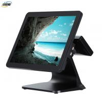 Intel Cerelon I5 CPU Computerized Point Of Sale System 15'' Touch Screen Black Color Manufactures