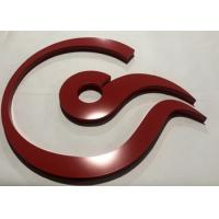 China Dimensional 3D Acrylic Letters Non - Illuminated Customized Company Office Signs on sale