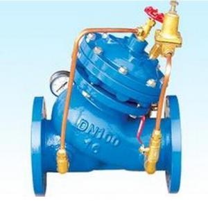 DN100 PN25 water pressure regulating valve YX741 , Inlet Pressure 22Kg / Sq.cm max Manufactures