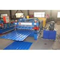 China Automatic Double Deck Roll Forming Machine PLC Control Stable Performance on sale