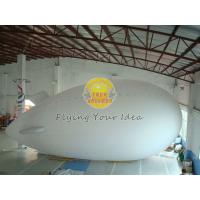 Fireproof Reusable Giant Advertising helium blimp / zeppelin Balloons with PVC Manufactures