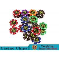 Good Printing Non - Faded Casino Royale Poker Chips With Special ABS Material Manufactures