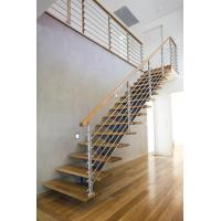 Interior Stainless Steel Wire Rod Railing for building Handrail design Manufactures