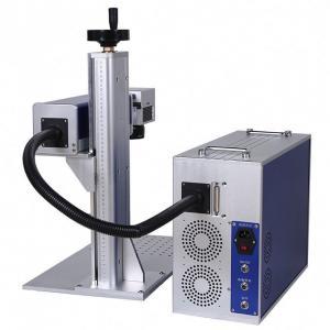 China 30W Fiber Laser Marking Machine / Metal Laser Engraving Machine 1064nm on sale