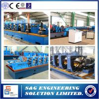 Roof Ridge Tile Automatic Steel Welded Pipe Machine 13 Roller Stations Manufactures