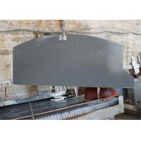 China Waterproof Grey Mirror Fleck Quartz Stone Countertops , Solid Surface Countertops on sale