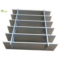 China Square Twisted Cross Bar Grating Floor Drain 3mm Steel Bracing Grid Plate on sale