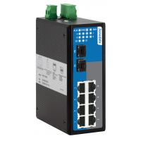 10 ports Gigabit WEB Managed Industry Ethernet Switch IP 40 Protection 12~48VDC Manufactures